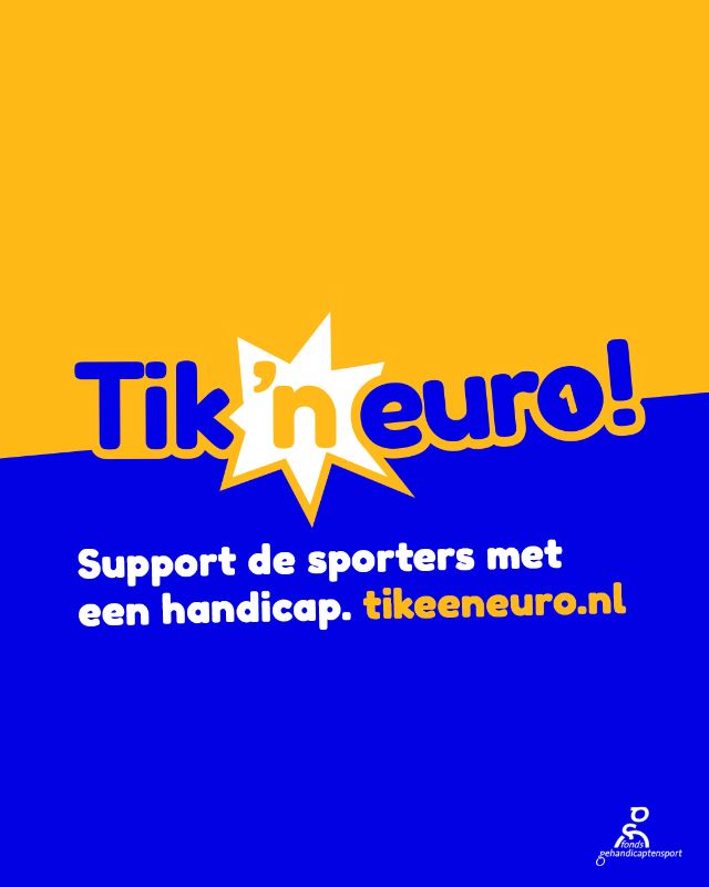 Klik op de button